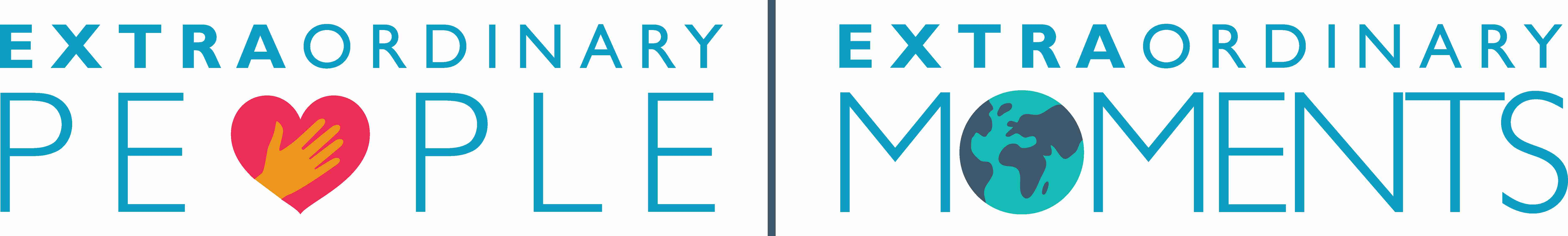 The Extraordinary People, Extraordinary Moments logo